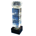 Corporate gifts-Crystal Trophy Bangalore