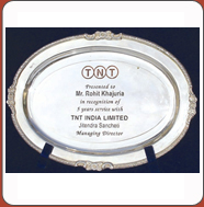 Corporate Gifts-Metal Trophy Bangalore